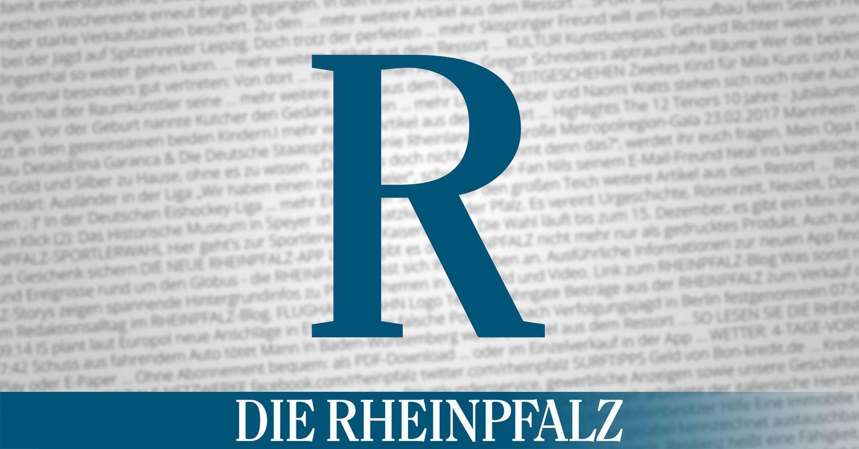 Die Rheinpfalz